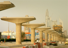 PAYMENT ISSUE: Japanese companies are owed billions for work done in Dubai, including the metro system, the Japanese consul general in Dubai has said. (Getty Images)