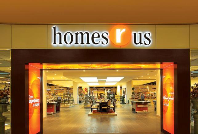 Homes r us expands its reach in the uae Home center furniture in dubai