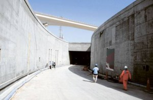 *  Image Credit: Francois Nel/Gulf News     * The RTA has completed about 70 per cent of the Rashid Hospital Tunnels Project. The project comprises the construction of roads and two two-lane tunnels.