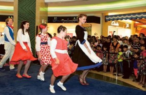 Image Credit: Atiq-ur-Rehman/Gulf News     Sound of Music, a sing-along show staged during the Dubai Summer Surprises at the Al Ghurair Centre in Deira.
