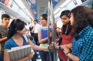 Image Credit: Ahmed Ramzan/Gulf News With the current women-only compartment being insufficient, RTA has moved to add half a cabin (car) for women during peak hours.