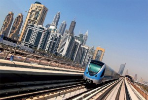 The Dubai Metro network will be connected to the Ittihad railway line at three stations. — KT file photos