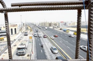 Image Credit: Virendra Saklani/Gulf News Regular commuters hope they will save time once the expansion is complete. The capacity of the highway is being doubled and all bottlenecks have been removed, minister says.