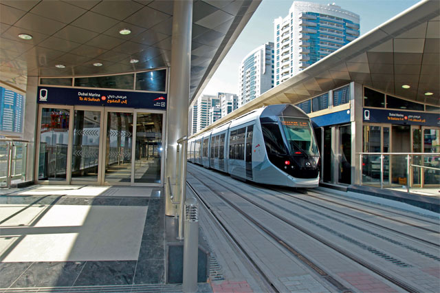 Dubai Tram: A leisurely mode of transport | dubaimetro.eu