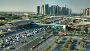A crash was also reported near Ghantoot, while heading on to Sheikh Zayed Road in the direction of Dubai. (File)
