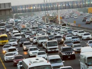 Image Credit: Virendra Saklani/Gulf News Though the width of the Mohammad Bin Zayed Road has almost doubled in three years of expansion, motorists say they spend the same amount of time on the highway as earlier.