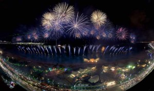 Fireworks will light up the sky from December 1 to 3 at various locations in Abu Dhabi. (Supplied photo)