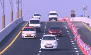 Two lanes now open from Jumeirah 3 to Jumeirah 2. (Supplied)